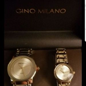Jewelry - His and Her Watch Sets - 2 Piece Matching Gift Set